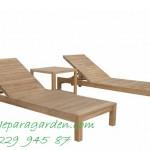 Lounger Chairs Seat Patio Teak Wood