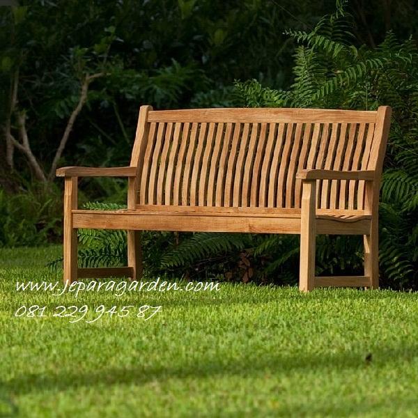 BANGKU KEBUN HARGA MURAH >> Jual Bangku Kebun Harga Murah Kayu Jati Jepara Model Kursi Teras Taman Rumah Minimalis