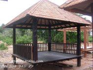 Gazebo Atap Sirap